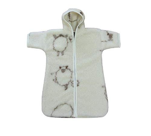 Babyschlafsack, Kinderschlafsack, Kinderwagen-Fußsack, Strampelsack, Kleinkind Schlafsack, tragbare Decke Merino Wolle Schäfchen