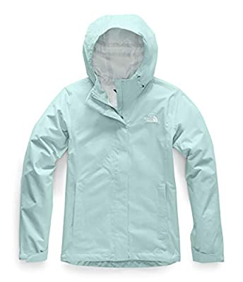 The North Face Women's Venture 2 Waterproof Hooded Rain Jacket, Windmill Blue Heather, M