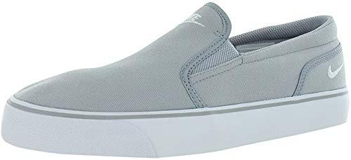 Nike Toki Slip TXT, Zapatillas Hombre, Gris (Wolf Grey/White 010), 40.5 EU