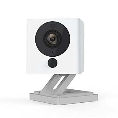 Wyze Cam 1080p HD Indoor Wireless Smart Home Camera with Night Vision, 2-Way Audio, Works with Alexa & the Google Assistant, One Pack, White - WYZEC2 by Wyze Labs, Inc.
