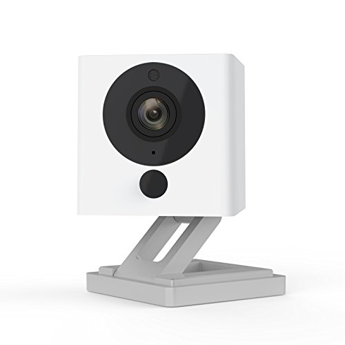 Wyze Labs Indoor Wireless Smart Home Camera with Night Vision and 2-Way Audio (White)