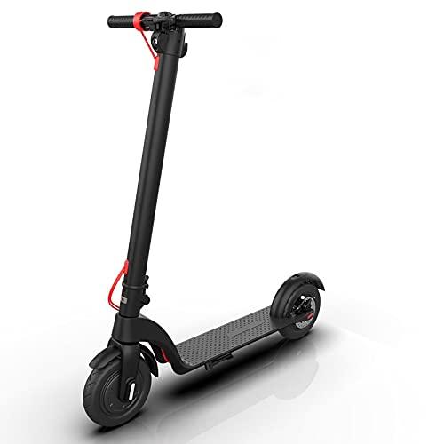 Kjy123 Scooter eléctrico Adulto 35 km/h, 5,5 Pulgadas Llantas Fuera de la Carretera Aleación de Aluminio Plegable E-Scooter, Liviana Plegable con Scooter de Pantalla LCD