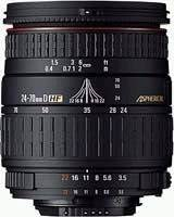 Sigma Limited time trial price 24-70mm f Product 3.5-5.6 Aspherical HF Lens for Nikon Cameras SLR