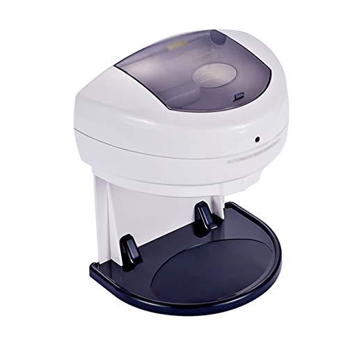 Dispensadores de Loción y de Jabón Dispensador de jabón 500 ML Blanco Inducción Automática Colgante de pared Dispensador de jabón Familia Baño Desinfectante de manos de plástico Cocina Baño