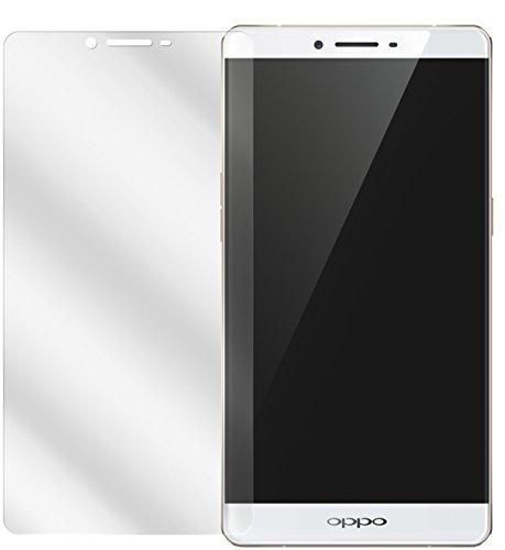 dipos I 2X Schutzfolie klar kompatibel mit Oppo R7s Folie Bildschirmschutzfolie
