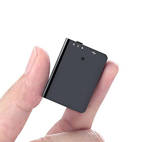 16 GB Mini Aufnahmegerät mit Wiedergabemöglichkeit, Mini Diktiergerät mit Sprachaktivierung und USB-Aufladung - Tragbares Voice Recorder für Vorträge, Besprechungen, Interviews, Lernen