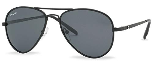 sonnenbrille unisex polarisiert matt schwarz (P66406)
