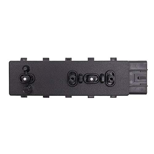 nobrand Vorne rechts Strom Sitzverstellsystemen Schalter for Cadillac Buick Chevrolet GMC 25974715 A3 (Color Name : Black)