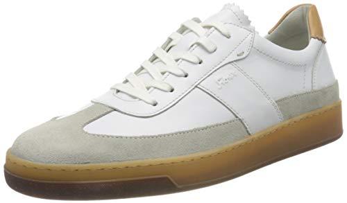 Sioux Herren Hopper-He-700 Sneaker, Weiß (Alluminio/Weiss 001), 39 EU
