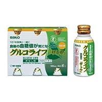 食後の血糖値が気になる方にサトウ製薬のグルコライフ100ml×6本洋なし味/カロリーオフ