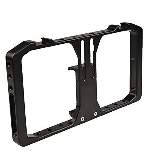 Docking Stations Rig Smartphone video jaula de aleación de aluminio universal de la cinematografía Caso portátil Estabilizador