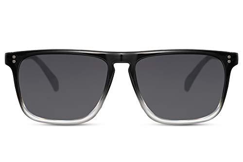Cheapass Zonnebrillen Rechthoekig met Platte Bovenkant 100% UV400 Bescherming Heren