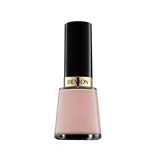 Revlon Nail Enamel, Chip Resistant Nail Polish, Glossy Shine Finish, in Nude/Brown, 705 Gray Suede, 0.5 oz