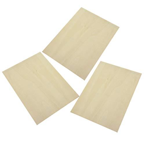 Healifty - Tavoletta in legno di betulla per dipingere e schizzare artisti
