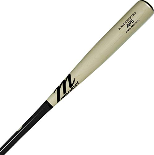 Marucci AP5 Pro Model Baseballschläger aus Ahornholz, 78,7 cm, Schwarz/Natur