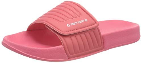 Tecnopro Unisex-Kinder Badesandale Tarragona I Badeschuhe, Pink (Pink/White 900), 31 EU
