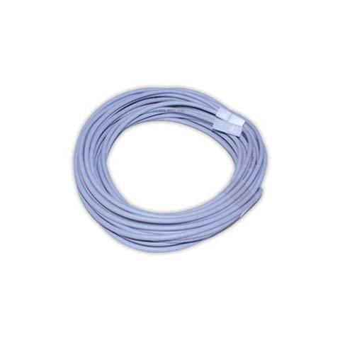 DOJA Industrial | Cable calefactor 300W | 10 metros | 230v | Resistencia de silicona Professional para Incubadora Terrario Reptiles Acuario Semilleros | Sonda calentador Fabricacion de cerveza vino