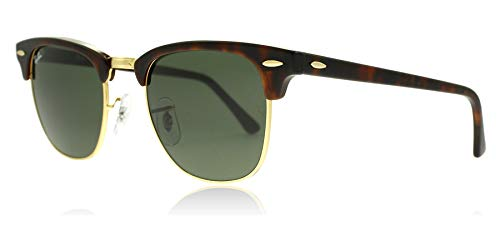 Ray-Ban RB3016 W0366 Gold / Tortoise RB3016 Clubmaster Sunglasses Lens Category