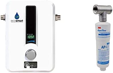 EcoSmart ECO 11 Electric Tankless Water Heater 13KW at 240 Volts with Patented Self Modulating product image
