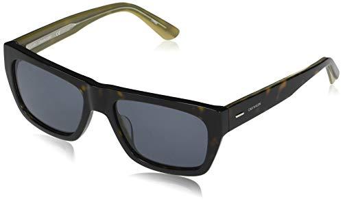 Calvin Klein EYEWEAR CK20539S-235 Gafas, Dark Tortoise/Solid Blue, 56-18-145 para Hombre