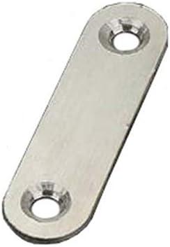 60stk Flachverbinder Lochplatte Lochblech 40x15x2mm Holzverbindung Edelstahl