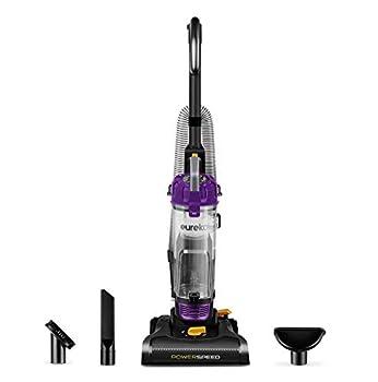 Eureka PowerSpeed Bagless Upright Vacuum Cleaner Lite Black  Renewed