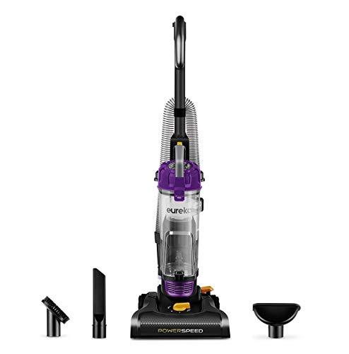 Eureka PowerSpeed Bagless Upright Vacuum Cleaner, Lite, Black (Renewed)