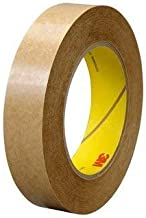 3M (463) Adhesive Transfer Tape 463 Clear, 3/8 in x 60 yd 2.0 mil