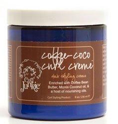 Curl Junkie Coffee-Coco Curl Creme, 8 fl. oz.