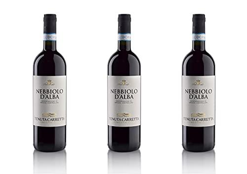 Tenuta Carretta - Nebbiolo d'Alba DOC - 0,75l (3 bottiglie)