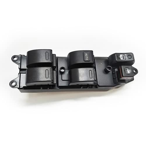 Xiyuncao Botón del Interruptor de la Ventana eléctrica del Coche, para Toyota Corolla Cammy Sienna RAV4 Interruptor de Control de la Ventana eléctrica 84820-12480