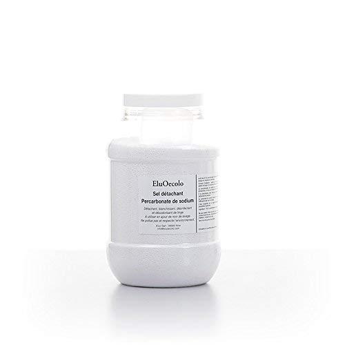 EluOecolo - Percarbonate de Soude 1kg - Oxygène actif <12% - Détachant & blanchissant