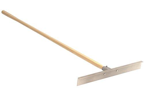Bon Tool 22-530 Lute Rake-Asphalt 30' Head 66' Wood Handle
