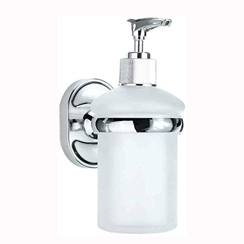 Dispensador de jabón montado en la pared dispensador de líquido mural cocina champú ducha dispensador de jabón de mano baño inodoro