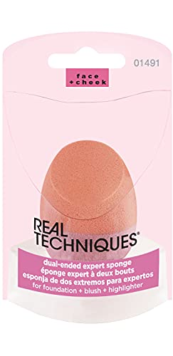 Real Techniques Dual-Ended Expert Sponge, 1 Count