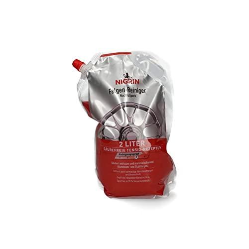 NIGRIN 20006 Felgen-Reiniger Nachfüllpack 2 Liter
