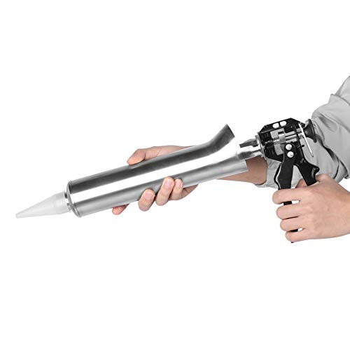 Road Cement Grouting Tool, Jadpes Thicken Roestvrij staal Keramische tegel Kitpistool Mortel Grouting Gun Spuit Kit Kit