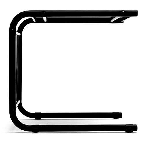 SUNTAOWAN Cocina Rack Doble Horno Microondas Horno eléctrico Plataforma Plataforma Plataforma de Metal Microondas (Color: Negro, Tamaño: 55,5 * 37 * los 36CM)