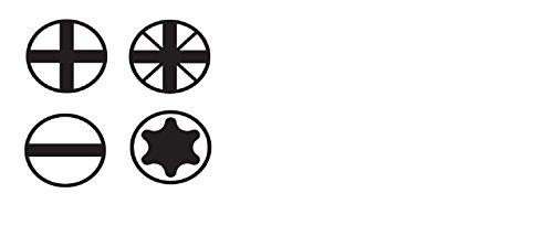 Wiha Schraubendreher Set SoftFinish® (41002), 12 tlg., Schraubenzieher Satz für Alltag, Handwerk und Industrie, Schraubwerkzeug für trockene Anwendungen, Schlitz/ Phillips/ Pozidriv/ TORX® - 2