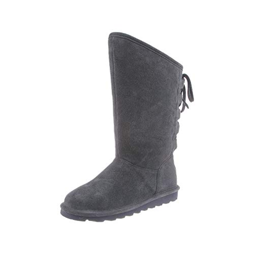 Bearpaw Phylly, Botas Slouch Mujer, Gris (Charcoal 030), 43 EU
