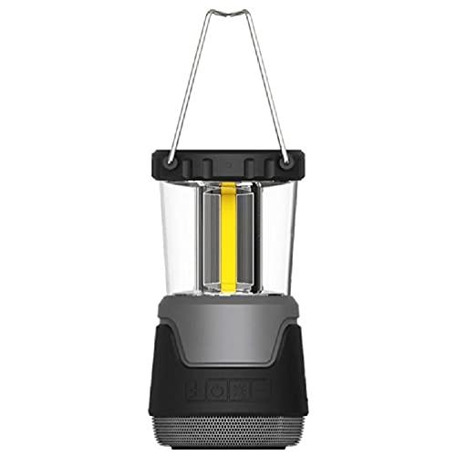 xllLU Portbale Luz de camping con altavoz Bluetooth al aire libre lámpara de iluminación LED de carga inalámbrica Camping luz con altavoz Bluetooth