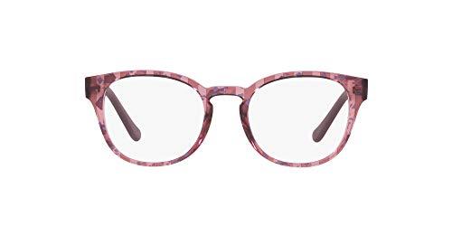 Vogue 0VO5272 Monturas de gafas, Text Stripes Brn/Blue Tr Dkblu, 49 para Mujer