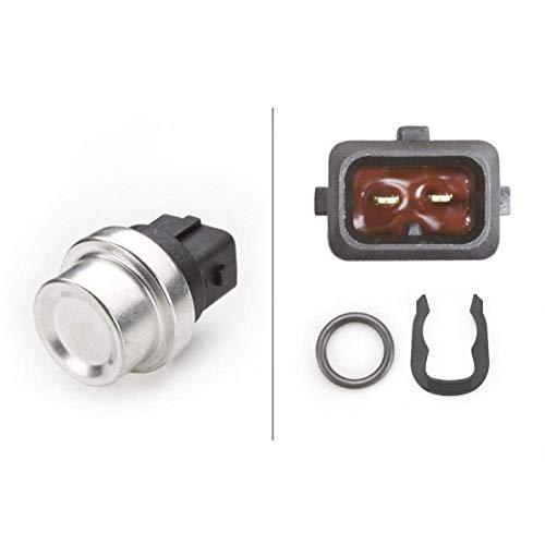 HELLA 6PT 009 107-241 Sensor, Kühlmitteltemperatur - 12V - gesteckt - mit Dichtung - mit Sicherungsring