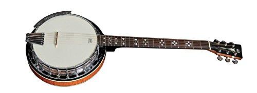 VGS Premium Gitarrenbanjo 6-saitig, Mahagonikessel mit 24 Spannschrauben