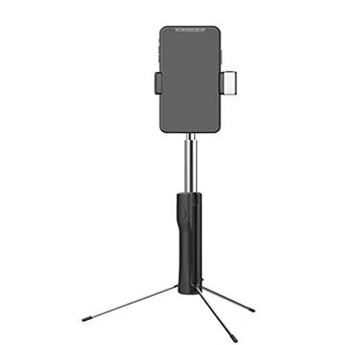 ppand Statief Selfie Stick, Multi-Functie Bluetooth Afstandsbediening Live Licht Beugel 360 ° Draaibaar, Compatibel Met Iphone, Ios Andriod En Andere Smartphones, Zwart