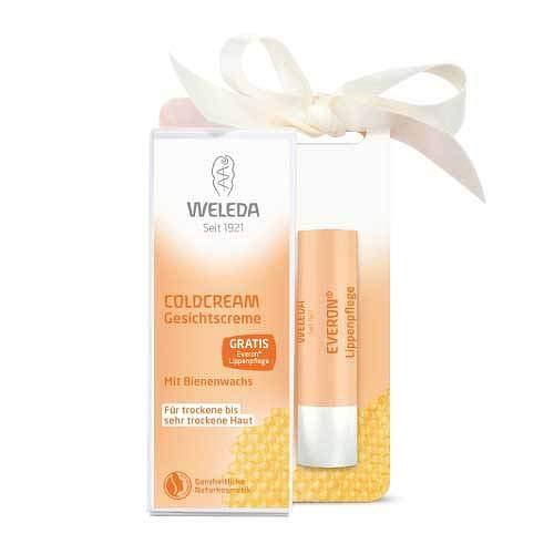 WELEDA Coldcream+Everon Lippen.gratis Vorteilsset 1 St