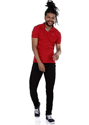 Jeans Skinny, Sawary Jeans, Masculino, Black, 46