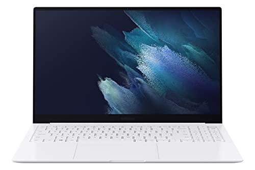"Samsung Galaxy Book Pro Laptop Computer, 15.6"" AMOLED Touchscreen, i5 11th Gen, 8GB Memory, 512GB SSD, Long-Lasting Battery, Mystic Silver"