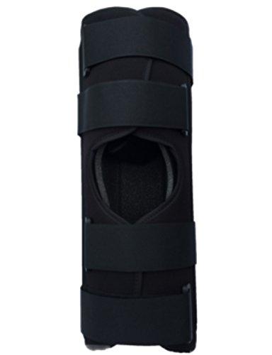 Alpha Medical 12' Long Adjustable Three Panel Knee & Leg Immobilizer / Knee Splint / Knee Brace L1830