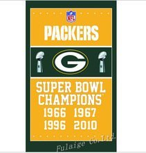 ReddingtonFlags NFL Green Bay Packers Super Bowl Banner Flagge